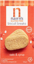 Nairn's Gluten Free Biscuit Breaks Oats & Syrup   3 x 160g