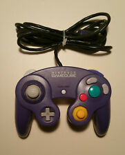 NINTENDO GameCube Controller Indigo Clear OEM Official DOL-003 TESTED