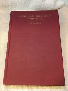 PRISTINE Radio and Television Servicing 1961/62 by Malloy, Hawker and Poole