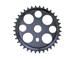 "Bicycle Black Lucky 7 Sprocket 36T 1/2"" x 1/8"" Chopper Bike Lowrider Cruiser"