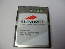 Summit SDC-CF10G Compact Flash Radio Module 802.11G
