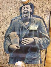 "Vintage Beatles Paul McCartney Poster Taken From A New York City Subway ""Rare"""