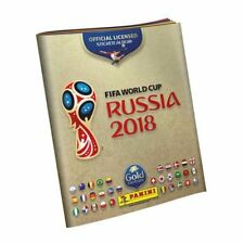 "Panini 2018 World Cup Russia Empty Sticker Album SWISS ""GRATIS"" GOLD Edition"