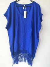 NEW Seafolly Starlight Kaftan Dress Blue Ray Size L / 14 rrp $79.95
