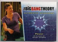 Big Bang Theory Season 5 Costume Card M33 Penny