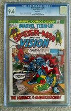 MARVEL TEAM-UP #5 CGC 9.6 SPIDER-MAN AND VISION - PUPPET MASTER APPEARANCE!!
