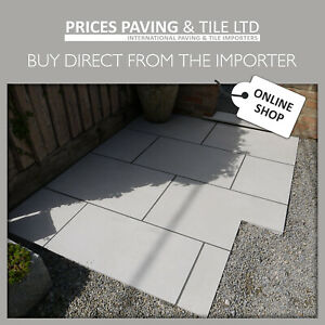 Porcelain Paving Full Bodied Rectified Patio Sample Pack TRY BEFORE YOU BUY