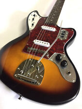 New Jaguar Style 6 String Solid Ash Electric Guitar Sunburst W/ Tremolo