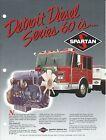 Fire Equipment Brochure - Spartan - Detroit Diesel - Series 60 Engine (DB242)