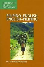 NEW Pilipino-English/English-Pilipino Concise Dictionary by Sam Bickford