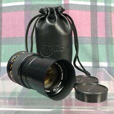Minolta MD Celtic 135mm 1:3.5 Lens Made in Japan Ø55mm with Original Black Case
