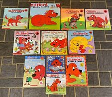 LOT11~CLIFFORD THE BIG RED DOG~CLIFFORDS MANNERS~ST. PATRICK'S DAY~3 LITTLE PIGS