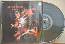 SERGE LAMA LA VIE LILAS FRENCH LP SPLIT ON COVER CHANSON