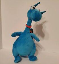 "Disney Doc McStuffins Stuffy Talking Blue Dragon Plush Stuffed Animal Toy 15"""