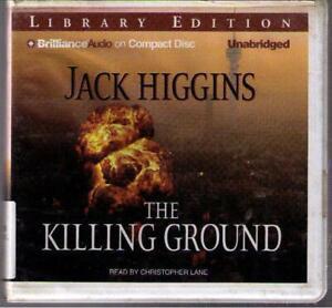 The Killing Ground by Jack Higgins (2007) CD Complete & Unabridged Hard Case