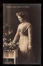 c1907 real photo prinzessin August Wilhelm von Pruessen germany royalty postcard