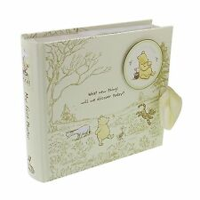 Disney Classic Pooh Photo Album - My First Photos Baby Gift Idea NEW  24775