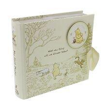 DISNEY Classic Pooh ALBUM FOTO-Il mio primo FOTO BABY IDEA REGALO NUOVO 24775