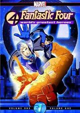 Fantastic Four: Worlds Greatest Heroes - Volume 1 (DVD, 2007)