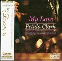 PETULA CLARK-MY LOVE-JAPAN MINI LP CD BONUS TRACK C94