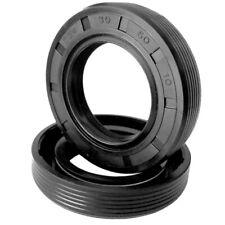 5Pcs Metric Oil Shaft Seal NBR TG4 Gasket Three Lip Spring Ring ID 8mm 10mm 12mm