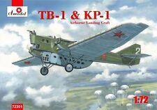 Amodel 1/72 TB-1 & KP-1 Airborne aterrizaje Craft paracaídas versión # 72351