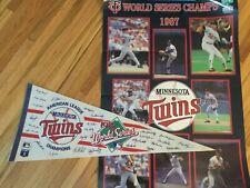 1987 Minnesota Twins World Series Memorabilia Lot