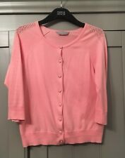 Dorothy Perkins Ladies Pink Cardigan - Size 12