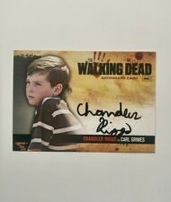 Chandler Riggs as Carl Grimes Walking Dead Season 1 Autograph Card A7