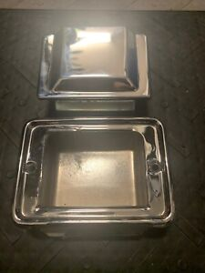 1981-1987 Grand National T-Type GNX Front Bench Bucket Seat Chrome ASH TRAY Trim