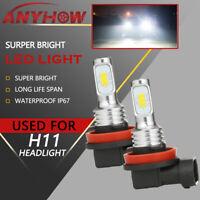 ANYHOW H11 LED Headlight Super Bright Bulbs Kit 330000LM HIGH/LOW Beam 6000K 2x