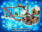 LEGO Winter Village Roller Coaster INSTRUCTIONS ONLY for LEGO Bricks Christmas