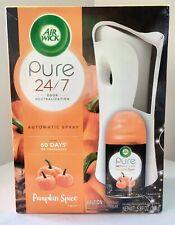Air Wick Pure 24/7 Odor Neutralization Automatic Spray *Pumpkin Spice* Set