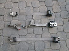 2003-2011 LINCOLN TOWN CAR Set of 3 REAR SEAT BELT RETRACTOR Gray Stone OEM