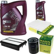 Motor-Öl 6L MANNOL Diesel TDI 5W-30+MANN-FILTER Mitsubishi ASX GA_W_ 1.8 DI-D