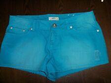 Size 11 So wear it declare it ombre aqua blue jean shorts New factory distress
