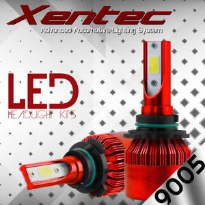 CREE Dual-Sided LED Headlight Kit 9005 HB3 980W 147000LM 6K High Beam White Bulb