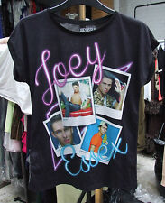 YD BNWOT Lovely Girls Joey Essex Black T-Shirt Age 11-12 Years