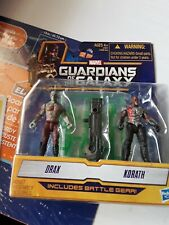 Guardians of the galaxy action figures Drax and korath