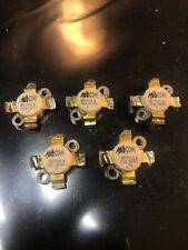 Lot of 5 MA-COM/ Motorola MRF 151A High Power Transistors (Tested Good)