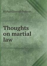 Thoughts on martial law, Sulivan, Joseph New 9785519161084 Fast Free Shipping,,