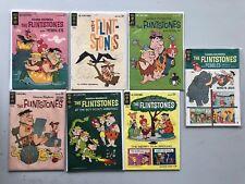 Lot of 7 Flintstones (1961 Dell/Gold Key) #17 8 22 7 18 15 13 FN Fine