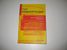 Erfolgreich Forschen von Armin Töpfer (2010, Taschenbuch)