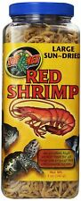 5oz Zoo Med Reptile Food Red Shrimp High Protein Treat Fish Turtle Top Quality