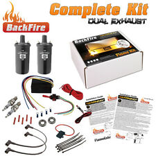 BackFire Dual Universal Automotive Exhaust Flame Thrower Fire Complete Car,Motor