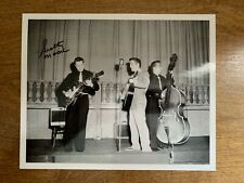 Scotty Moore / Elvis Presley - Hand Signed Autographed 8x10 B&W Photo - Live!