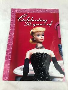 BARBIE - TEMPO TRADING CARDS, AUSTRALIA - LARGE ADVERTISING POSTER - 1990'S