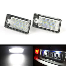 2pcs Car LED Number License Plate Light Lamp For Audi A3 A4 A6 S6 A8 Q7 RS4