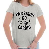 Cardio Gamer Master Trainer Gaming Nerd Geek Womens Short Sleeve Ladies T Shirt