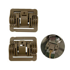 2pcs Tactical Vest Quick Release Buckle Slider MOLLE Strip Module Strip BuckBSL